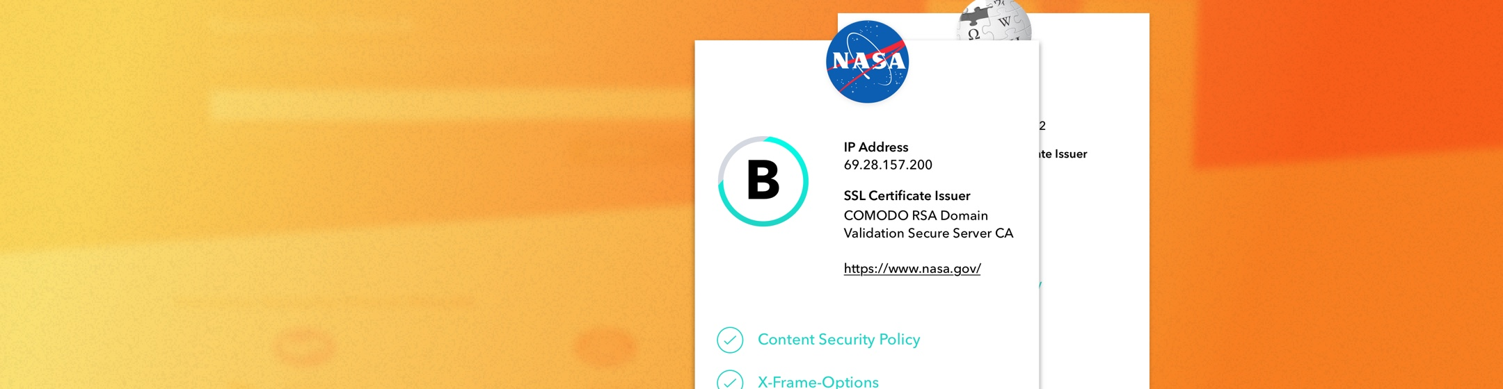 Introducing Security Check: Instantly assess the security posture of your websites and web applications